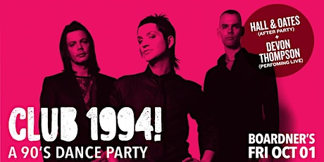 Club 1994 - A 90's Dance Party tickets