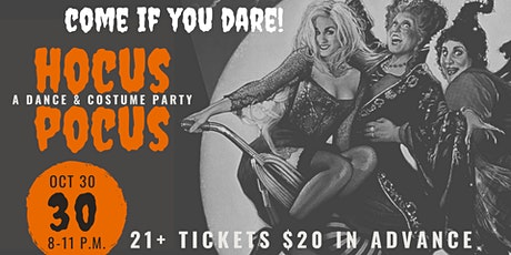 Hocus Pocus: Costume & Dance Party tickets