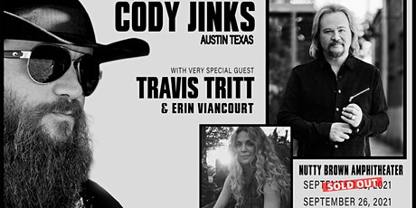 Cody Jinks with special guest Travis Tritt tickets