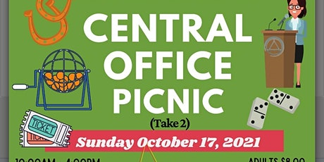 Inland Empire AA Central Office Picnic tickets