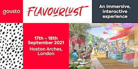 Flavourlust   Gousto tickets