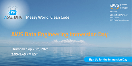 AWS/ASCENDING Virtual Immersion Day -- Data Engineering tickets