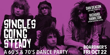 Singles Going Steady - A 60's & 70's Dance Party tickets