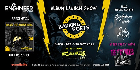 Barking Poets Album Launch Party tickets
