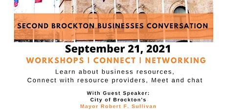 Brockton Business Conversation Follow up & Networking tickets