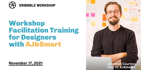 Workshop Facilitation training for Designers with AJ&Smart tickets