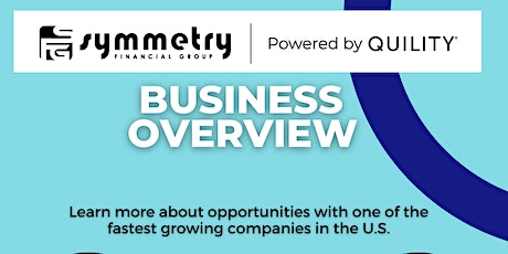 Symmetry Financial Business Overview tickets