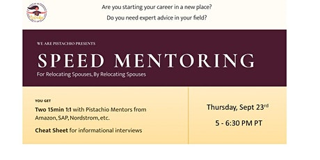 Speed Mentoring for Relocating Spouses tickets