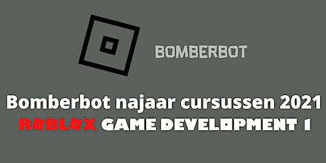 Bomberbot|Online  Cursus Roblox Game Development 1| 10-13 jaar| 8 weken tickets