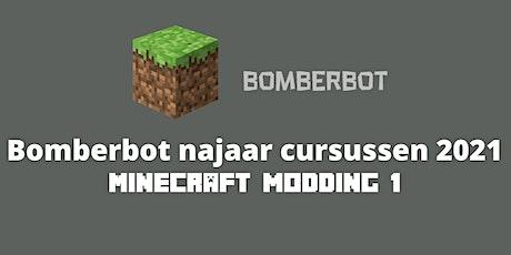 Bomberbot: Online Cursus |Minecraft Modding 1| 10-13 jaar| 8 weken tickets