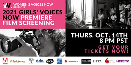 Girls' Voices Now - Virtual Premiere Screening 2021 tickets