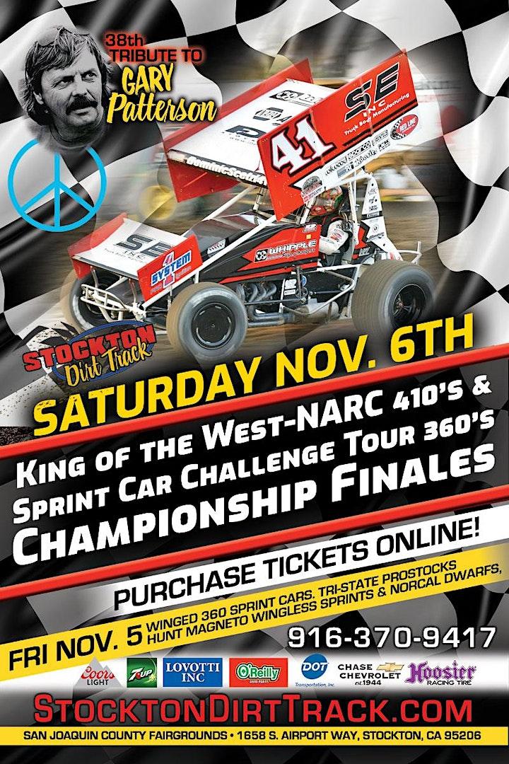Nov 6th KWS-NARC 410 & SCCT 360 Sprint Car Championship Finales image