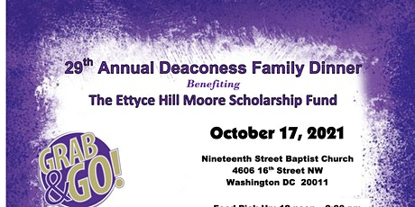 29th Annual Deaconess Family Dinner tickets