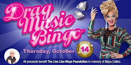 Drag Designer Purse Music Bingo tickets