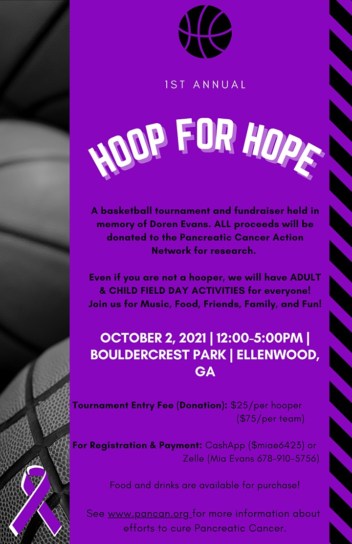 HOOP FOR HOPE: 3-on-3 Charity Basketball Tournament + ADULT FIELD DAY! image