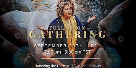 Virtual Harvest Full Moon Gathering tickets