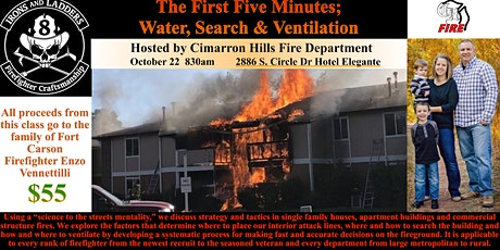 The First Five Minutes; Water, Search and Ventilation tickets