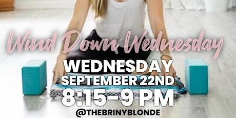 Wind Down Wednesday: Free Yoga tickets