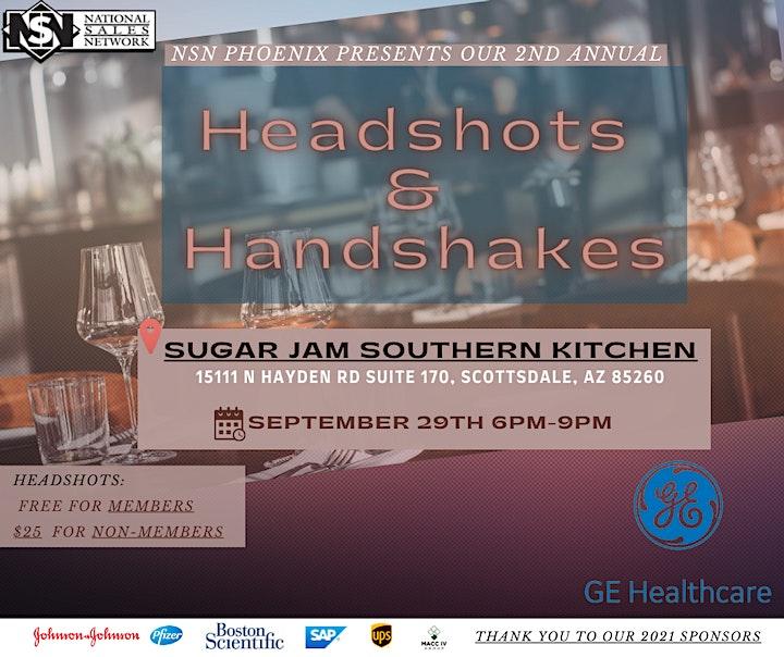 NSN Phoenix Presents Headshots and Handshakes image