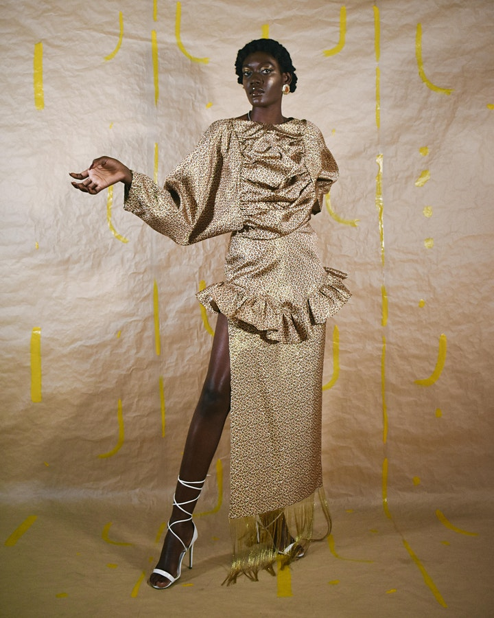 LONDON FASHION WEEK: BLACK DESIGN RUNWAY SHOW AND EXHIBITION image