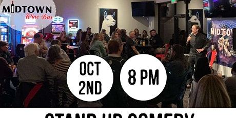 Midtown Laughs: Stand Up Comedy at Midtown Wine Bar tickets