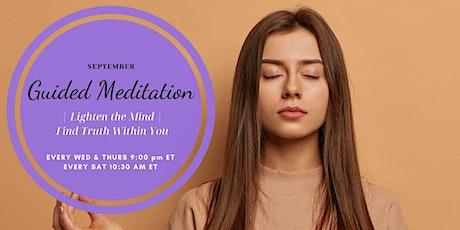 Guided Meditation | Lighten the Mind tickets