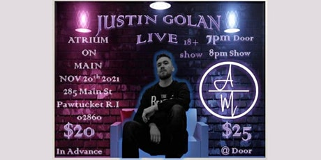 Justin Golan Comedy Piano Tour: Roasts, Toasts, and Songs (18+) tickets