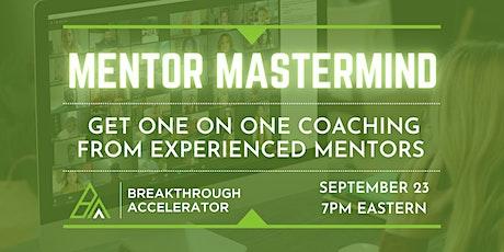Mentor Mastermind tickets