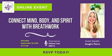 Connect Mind, Body, and Spirit with Breathwork tickets