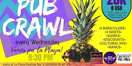 Medellin Pub Crawl by LiLO entradas