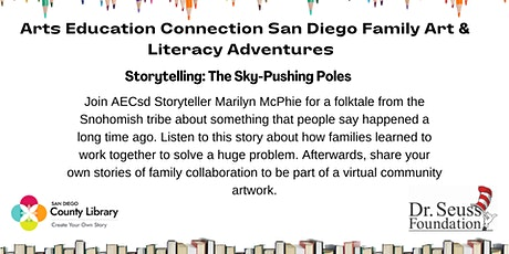 AECsd  Family Art & Literacy Adventures Storytelling San Marcos Library tickets