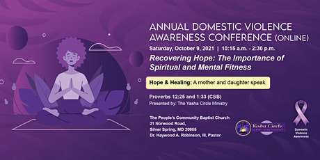 Domestic Violence Annual Conference tickets