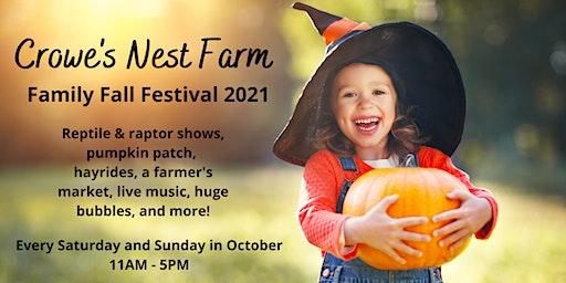 Crowe's Nest Farm Family Fall Festival Tickets, Multiple Dates | Eventbrite