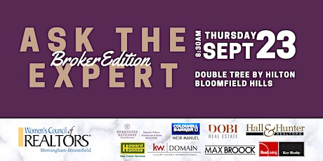 Ask The Expert   Broker Edition tickets