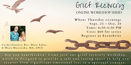 Grief Recovery Online Workshop tickets