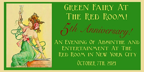 The Green Fairy at The Red Room: Absinthe and entertainment Oct 7th, 2021 tickets