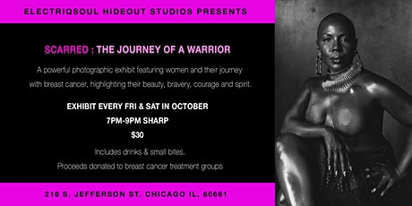 SCARRED: THE JOURNEY OF A WARRIOR tickets