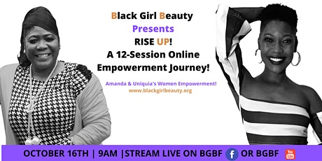 RISE ABOVE ~ Black Girl Beauty Empowerment Event tickets