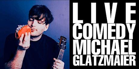 LIVE COMEDY with Michael Glatzmaier @ Honey Social Club 9/24 & 9/25 @ 9PM tickets