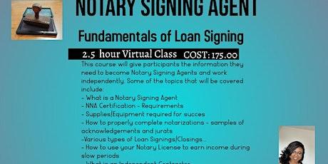 Notary  Signing Agent Course- Virtual entradas