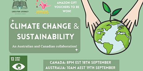 Lives for Literacy x Folding Your Futures Australia Climate Change Event tickets