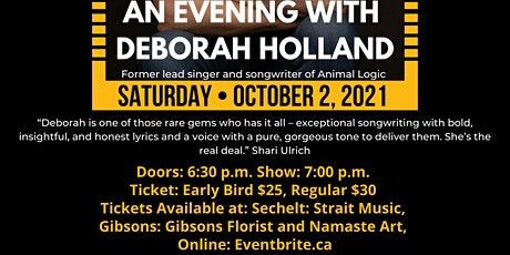 An Evening with Deborah Holland tickets
