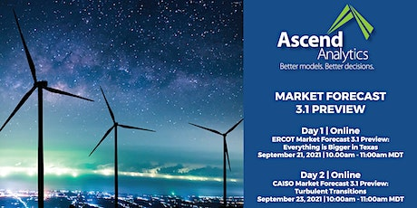 Ascend Analytics Market Forecasts 3.1 Preview tickets