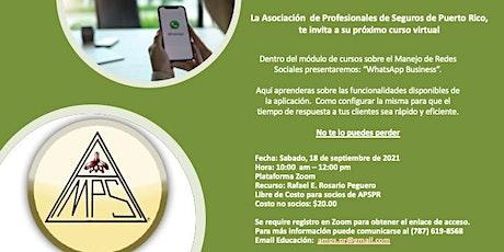 WhatsApp Business Course entradas