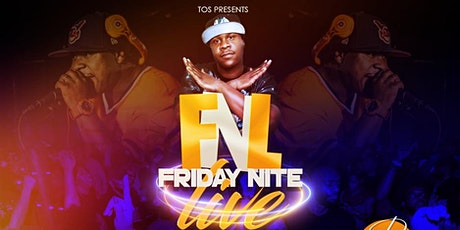 """FRIDAY NITE LIVE - GHOE EDITION - w/ DJ CLEVE """"THE TOTAL PACKAGE"""" tickets"""