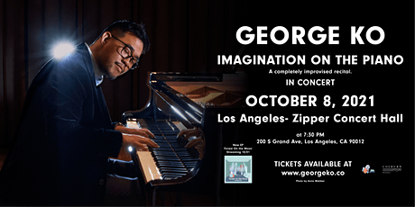George Ko in Concert- Imagination on the Piano tickets