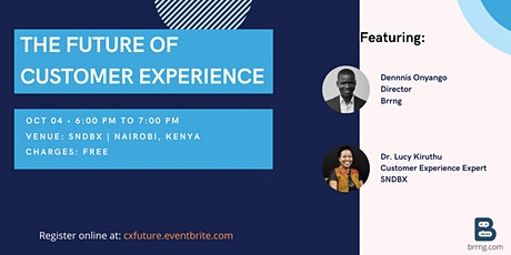 The Future of Customer Experience tickets