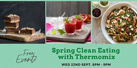 Spring clean eating with Thermomix tickets