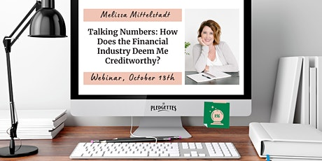 Talking Numbers: The Financial Industry with Melissa Mittelstadt tickets