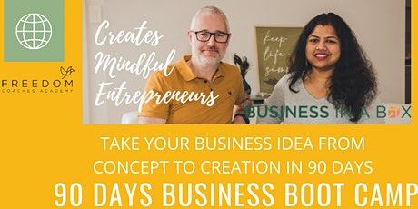 Business in a Box - 90 day Boot camp OCT 2021 tickets